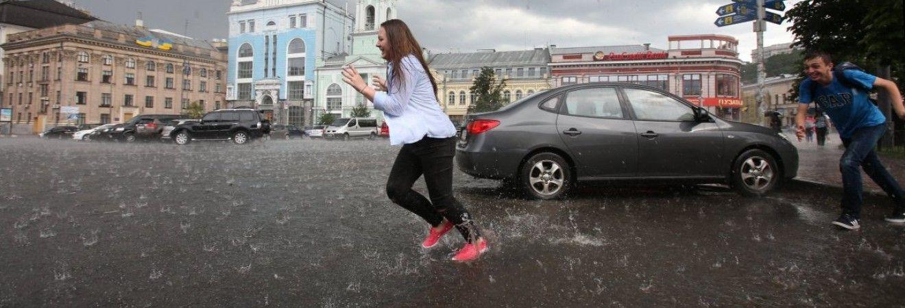 Жителей Киевской области предупреждают о сильном дожде и грозах