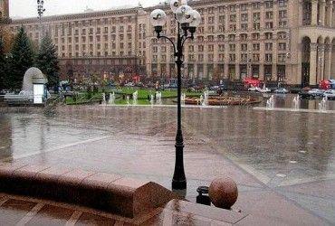 У Києві завтра пройде злива, температура до +9°