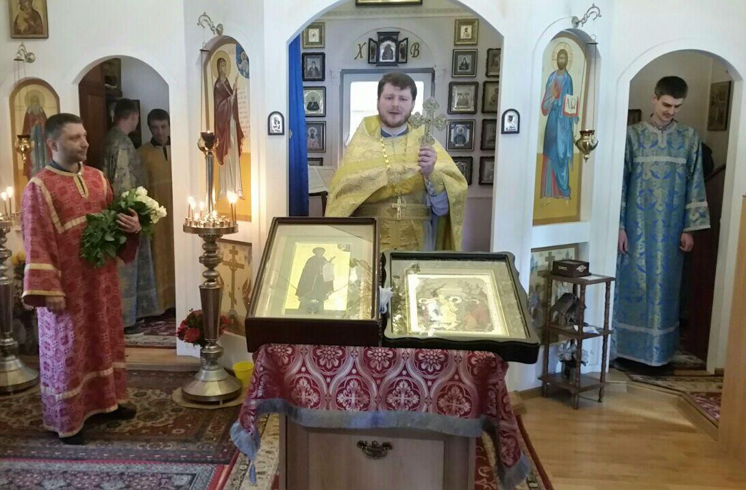 Настоятель храма  иерей Вячеслав Патриченко