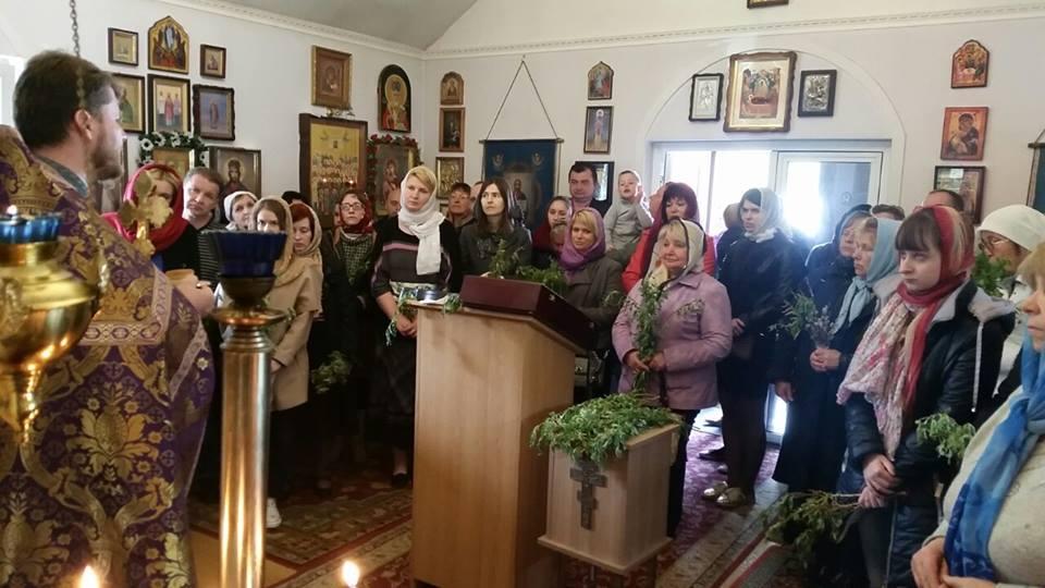 За время существования храма сформировалась церковная община