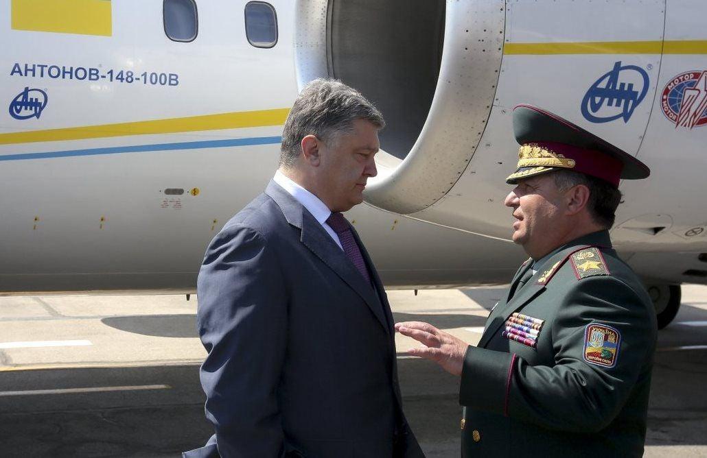 Порошенко уволил Полторака / фото УНИАН