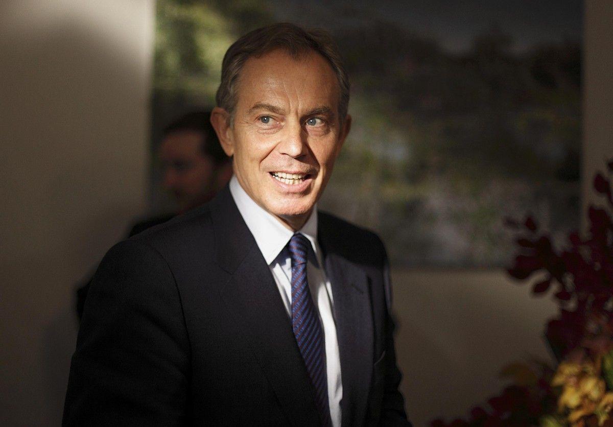Экс-премьер-министр Соединенного Королевства Тони Блэр / REUTERS
