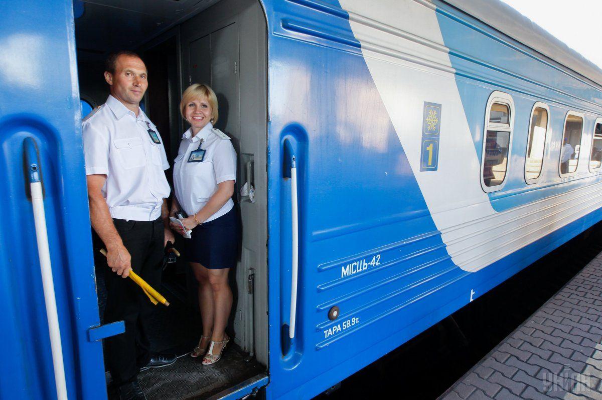 В пути поезд будет останавливаться в Казатине, Виннице, Жмеринке, Подольске/ фото УНИАН