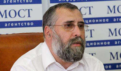 Член правления еврейской общины Олег Ростовцев. Фото: ИА МОСТ-ДНЕПР