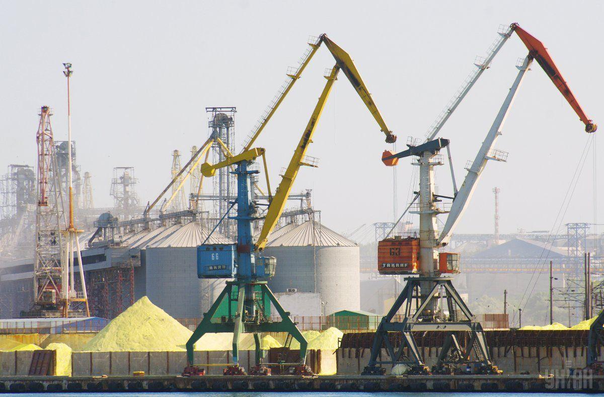 В ближайшие пять лет в украинские порты инвестируют минимум $3 миллиарда/ фотоУНИАН