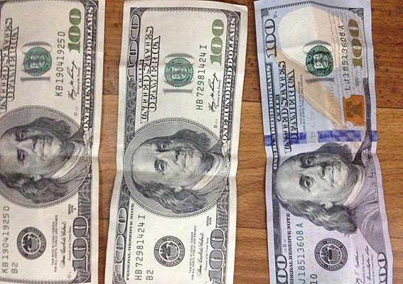 взятка доллары / npu.gov.ua