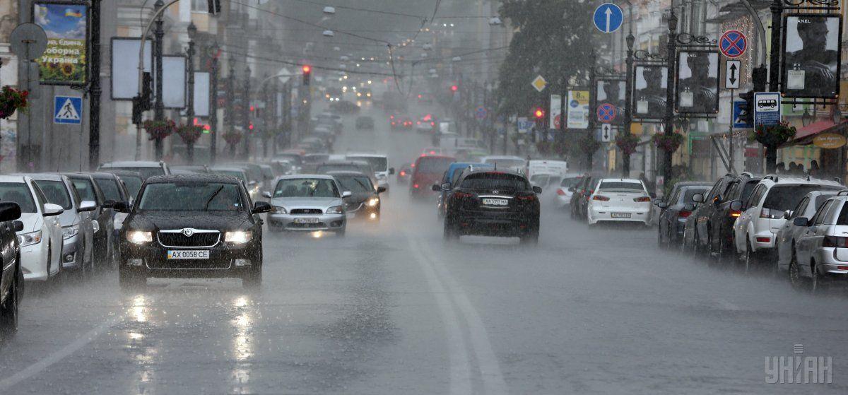 В Киеве сегодня пройдет дождь / УНИАН