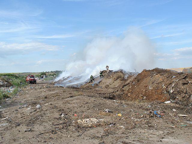 пожар свалка мусор николаев / mk.mns.gov.ua