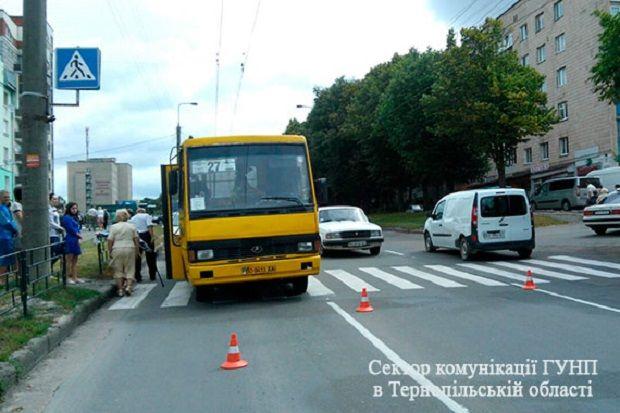 ДТП / Фото ГУНП у Тернопільській області