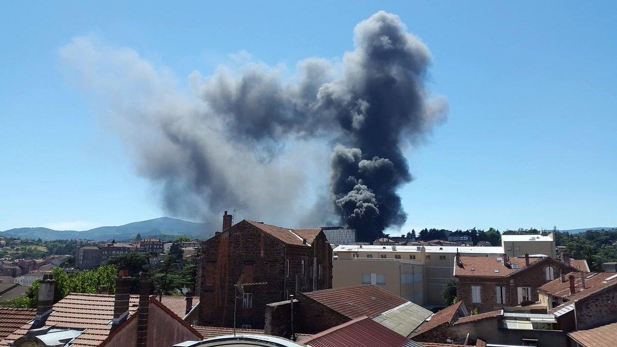 Франция, взрыв / twitter.com/News_Executive