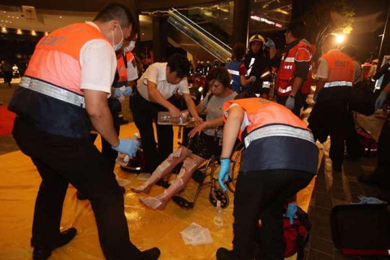 На Тайване в поезде прогремел взрыв / THE CHINA POST