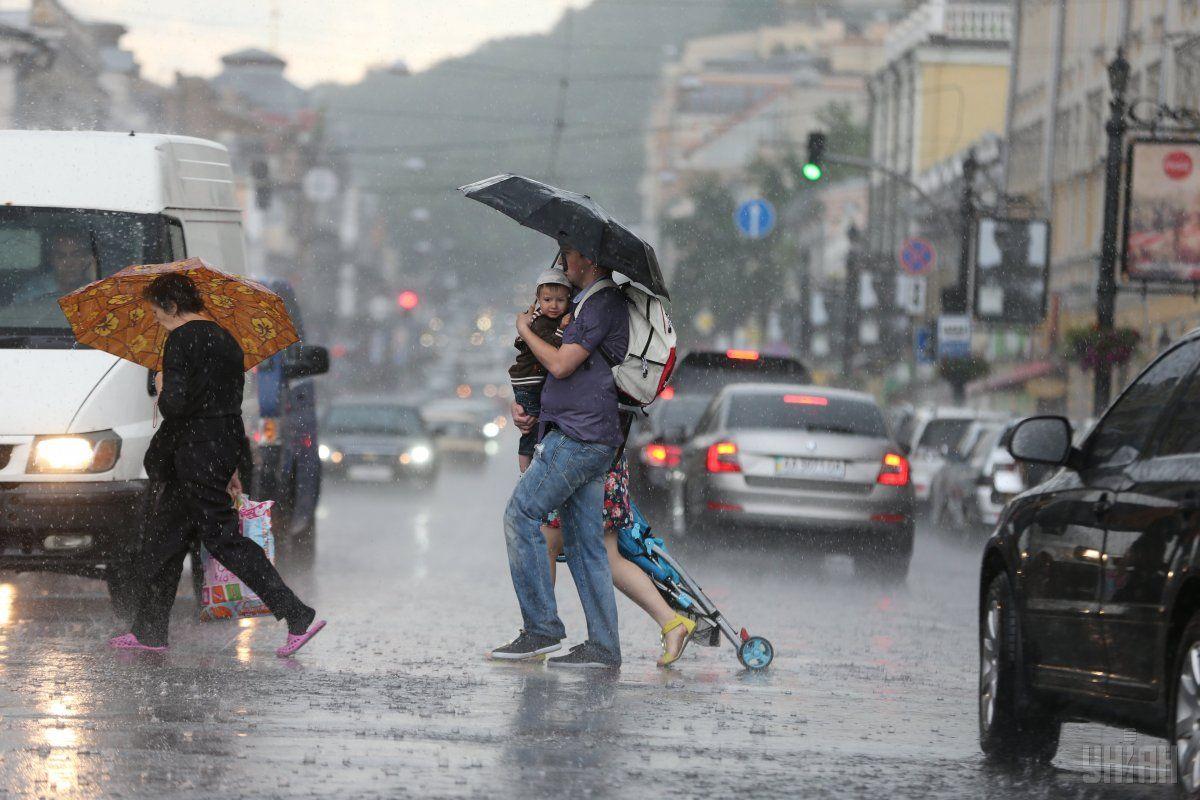 Сьогодні можливі опади / фото УНИАН