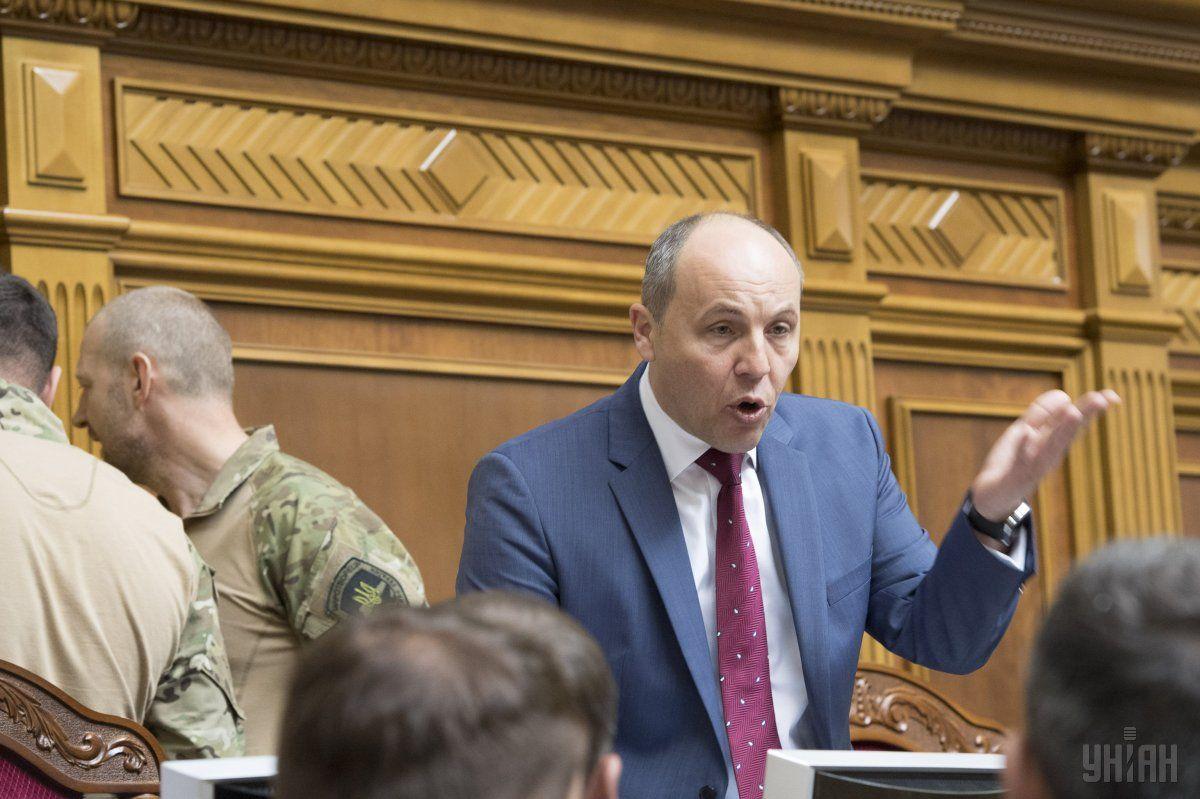Парубій стверджує, що в Україні