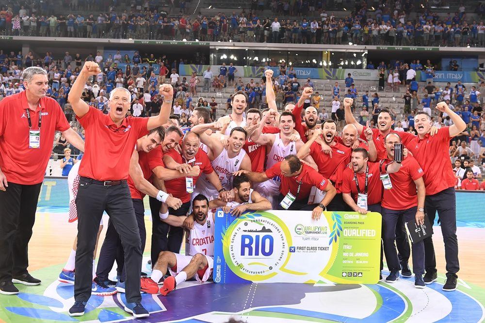 Хорватия сыграет на Олимпиаде / fiba.com