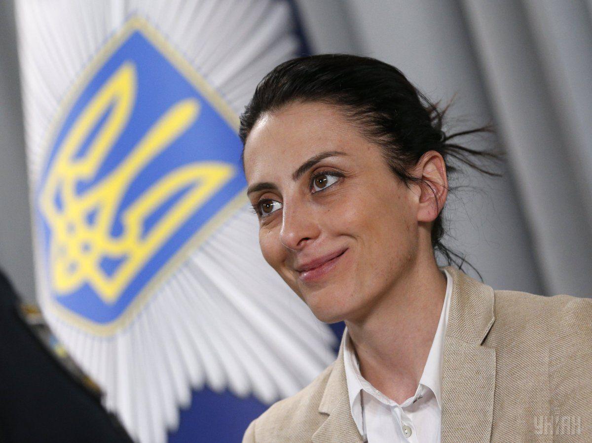 Глава Национальной полиции Украины Хатия Деканоидзе / УНИАН