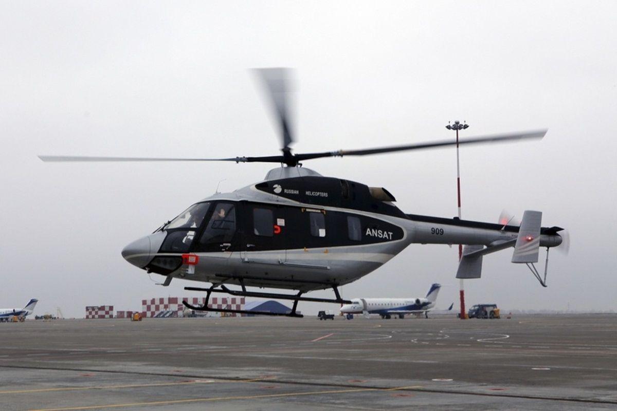 Россия представит на авиашоу только гражданские вертолеты / Фото russianhelicopters.aero