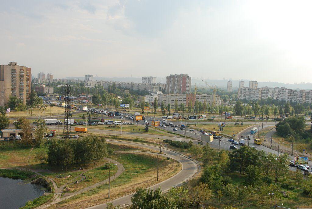 Між Воскресенкою та Троєщиною планують збудувати розв'язку / panoramio.com/user/638122