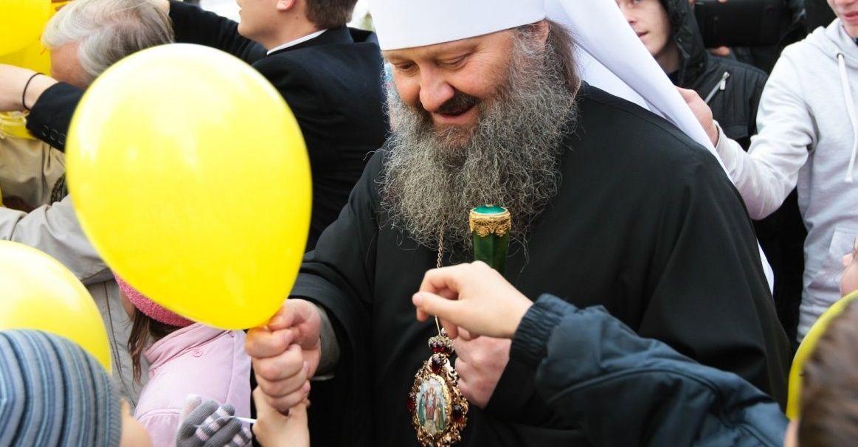 Фото из архива. День молитвы за сирот в Киево-Печерской лавре.