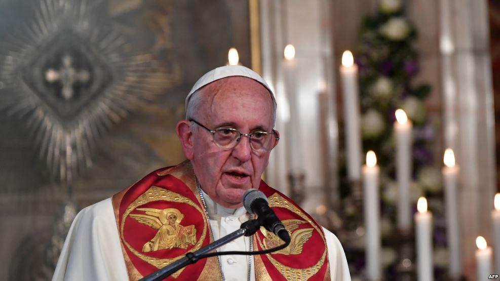 Папа Римський Франциск, Єреван, Вірменія, 24 червня. Фото: Радіо Свобода