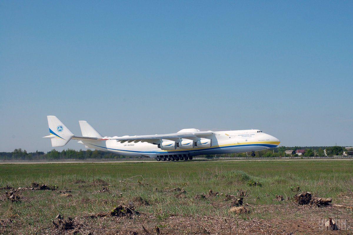 В 2010 году Ан-225 «Мрия» перевезсамый длинный груз в истории воздушных транспортировок / фотоУНИАН