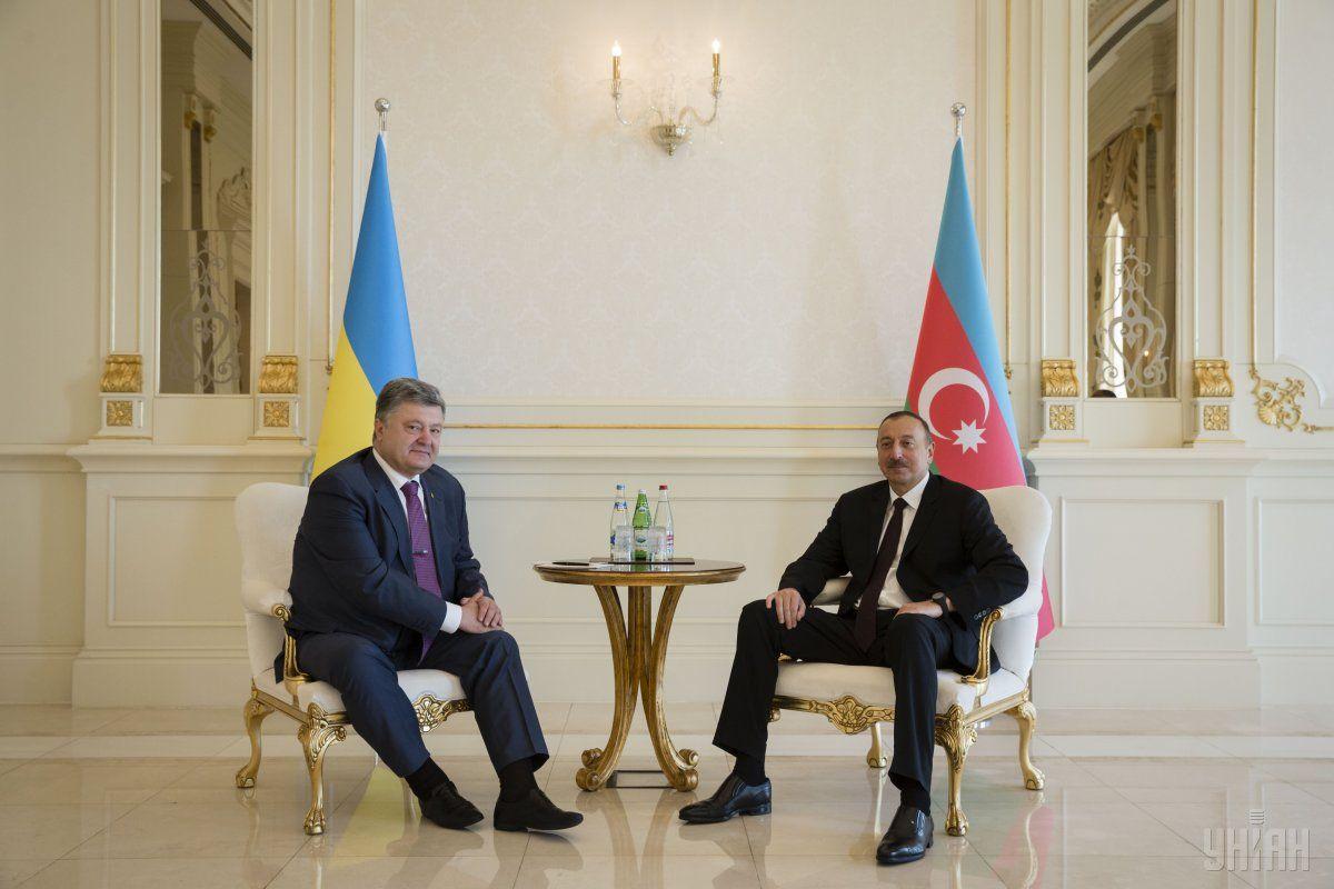 Україна і Азербайджан мають намір розвивати маршрут в обхід Росії / Фото УНИАН