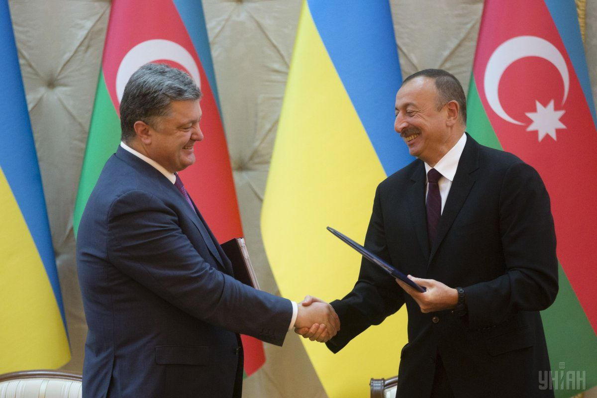 Ukraine and Azerbaijan agreed to implement a number of joint projects / Photo from UNIAN