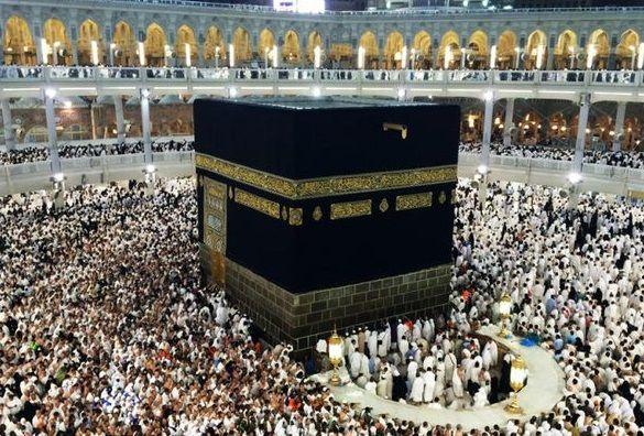 Впервые в этом году солнце проходило над Каабой в мае. Фото: Ислам для всех.