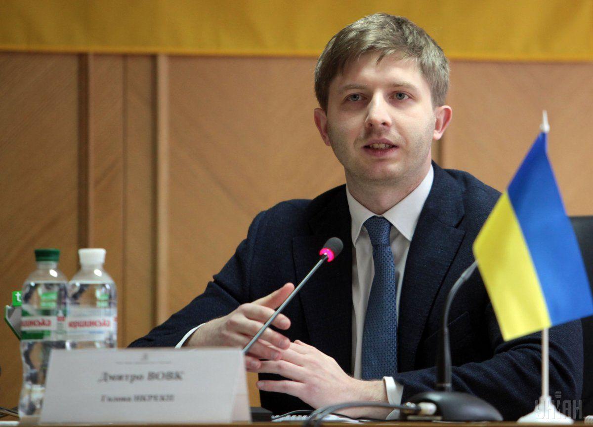 Дмитрий Вовк, даже без стажа, пытался любой ценой остаться в Комиссии / фото УНИАН