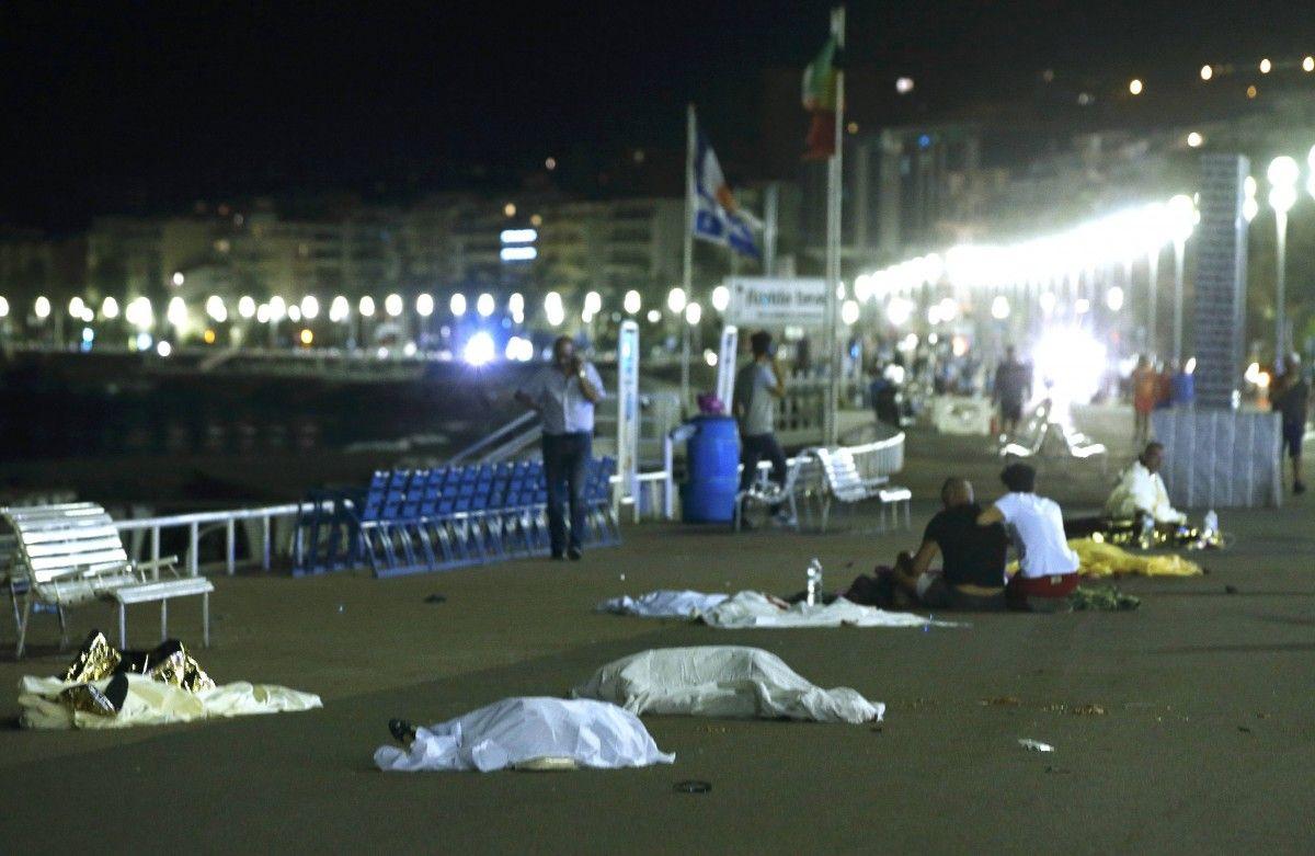 Последствия теракта в Ницце / REUTERS