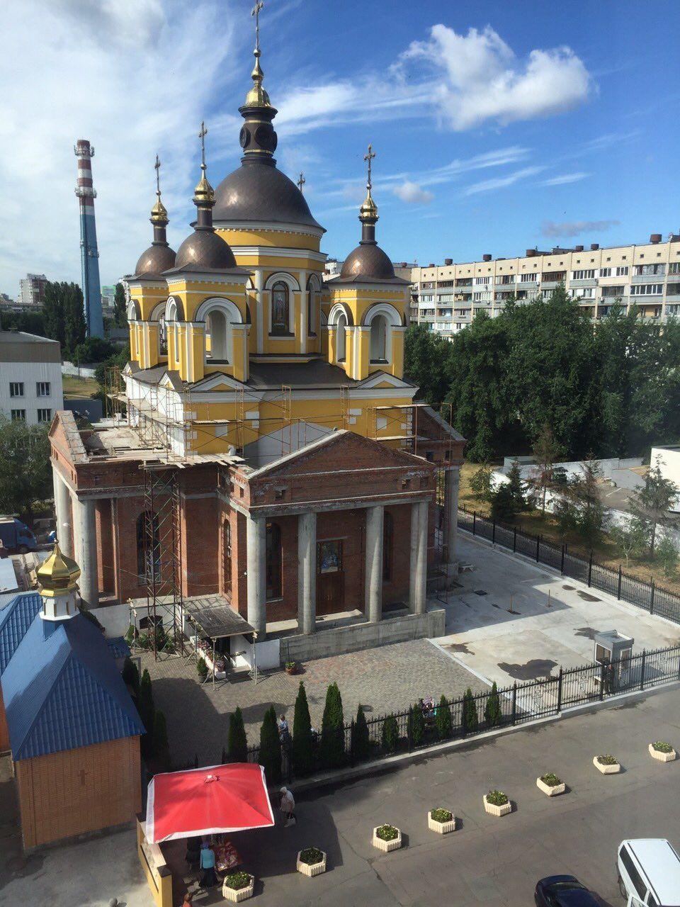 Храм в честь святых мучеников Космы и Дамиана Римских