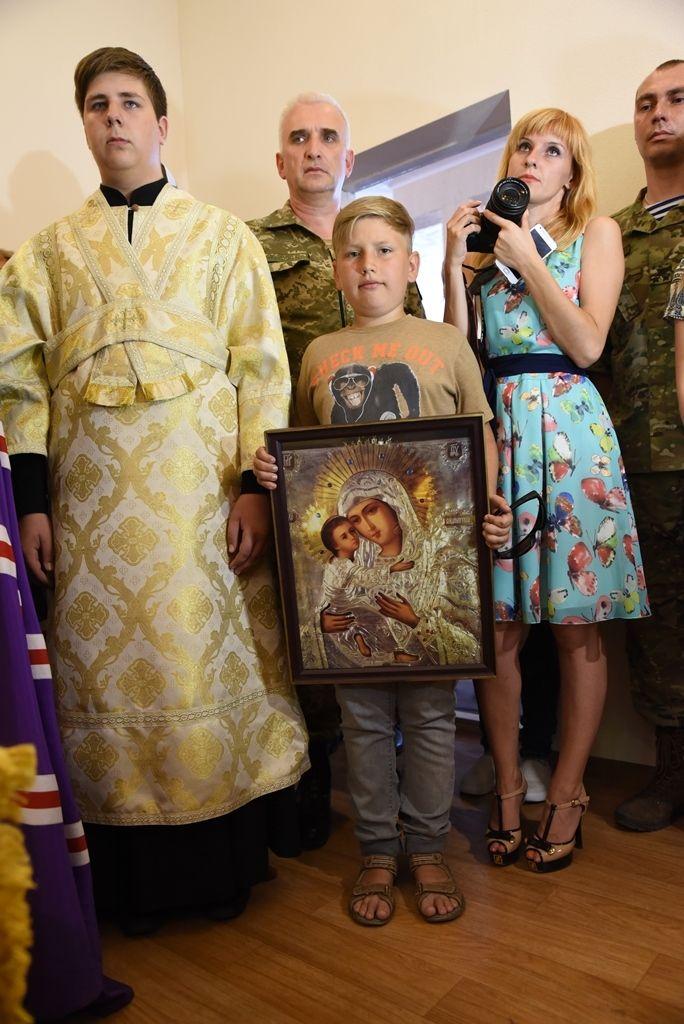 Каждый военнослужащий сможет прийти сюда, зажечь свечу и помолиться за мир на украинской земле. Фото: священнодиакон Илиодор (Кугатов)