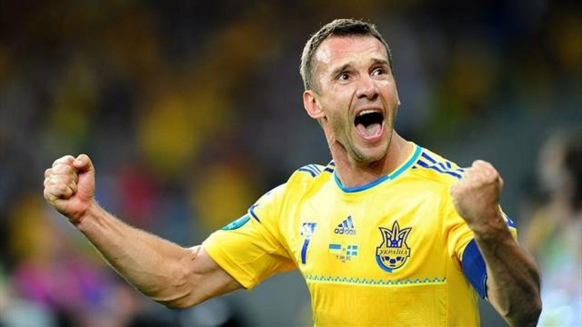 Shevchenko He is ranked as the fifth top goal scorer in all European competitions, with 67 goals / Photo from bykvu.com