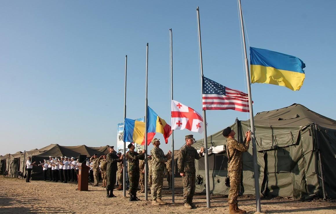 Учения проходили в Украине с 1 по 12 июля / фото facebook.com/GeneralStaff.ua