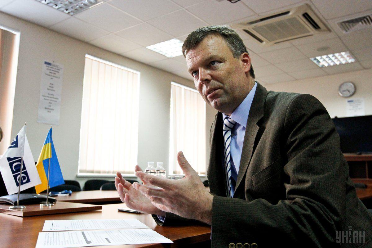 Экс-заместитель главы Специальной мониторинговой миссии ОБСЕ в Украине Александр Хуг / фото УНИАН