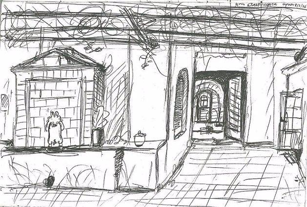 Фонтан в монастыре Ставроникита. Фото: pemptousia.gr