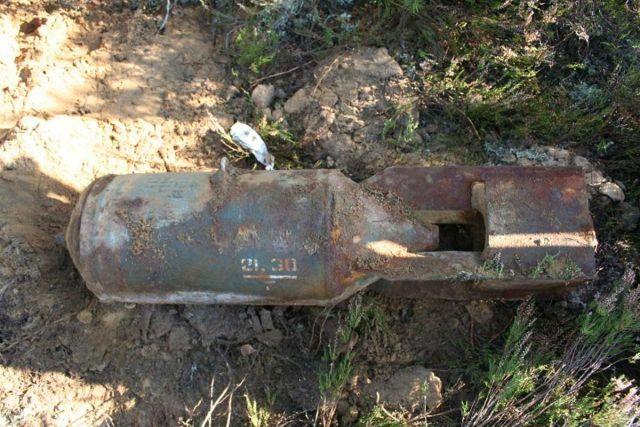 Знахідка є  авіабомбою ФАБ-100 часів Другої світової війни