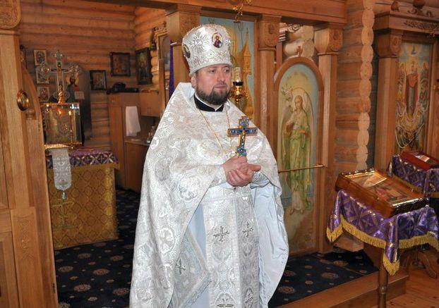 Настоятель прихода протоиерей Ярослав Шовкеник