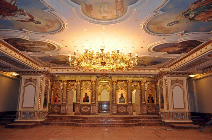 Нижний храм, посвященный святому благоверному князю Александру Невскому