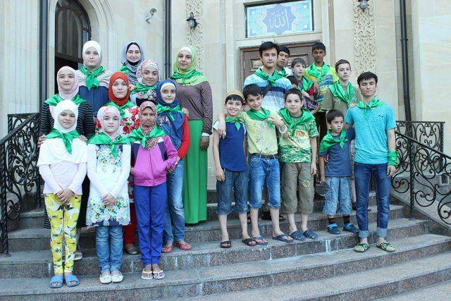 На отдых прибыло более 80 детей из разных регионов Украины и зарубежья. Фото: umma.ua