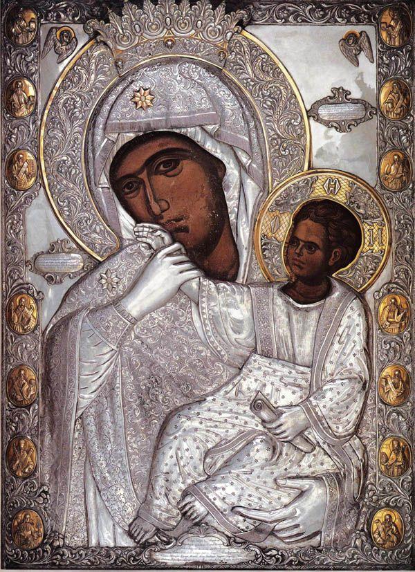 "Икона Божией Матери ""Отрада или Утешение"""
