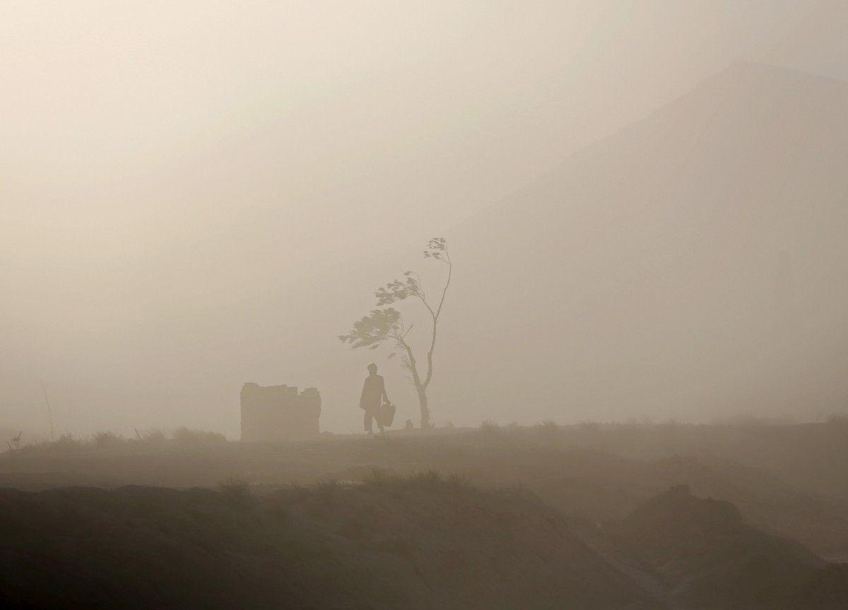 Все-таки живемо в іншому кліматичному поясі, тому наші зими не такі, як в Єгипті / фото REUTERS