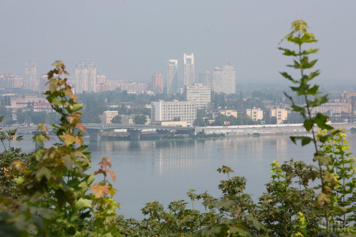 Улучшение ситуации с загрязнением воздуха в Киеве ожидается в конце месяца / фото УНИАН
