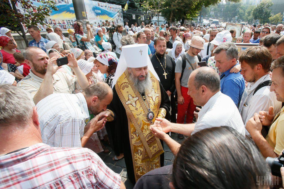Священники УПЦ МП фактически признали себя подданными светского лица / фото УНИАН