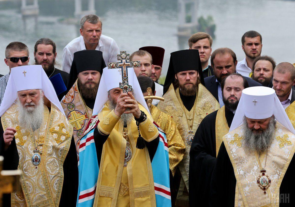 Крестный ход УПЦ МП / фото УНИАН