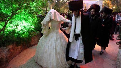 Еврейская свадьба. Фото: Курсор
