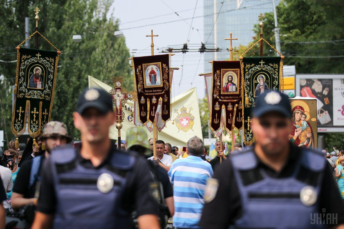 У Києві пройдуть одразу три хресні ходи / УНІАН