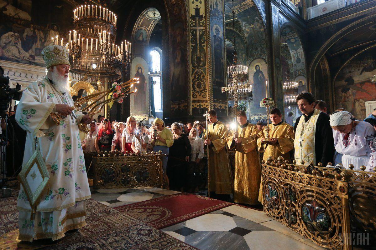 УПЦ КП считают правопреемницей Киевской митрополии времен Руси 52% украинцев / фото УНИАН