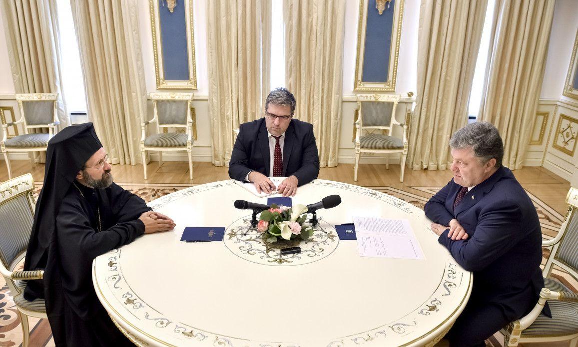 Архієпископ Іов: І хоча церква і держава відділені, церква і держави мають співпрацювати / Фото president.gov.ua