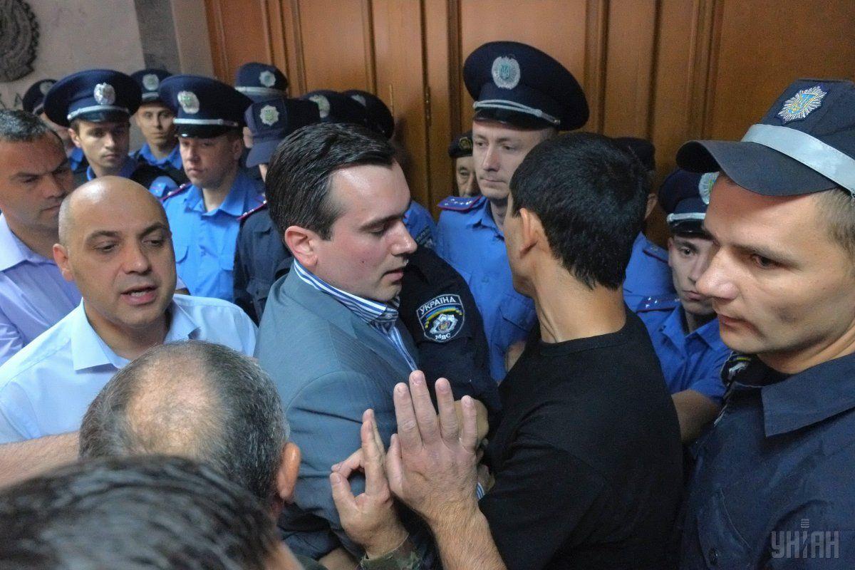 В правоохранительных органах заявили, что нападение связано с конфликтом, возникшим на бытовой почве / Фото УНИАН