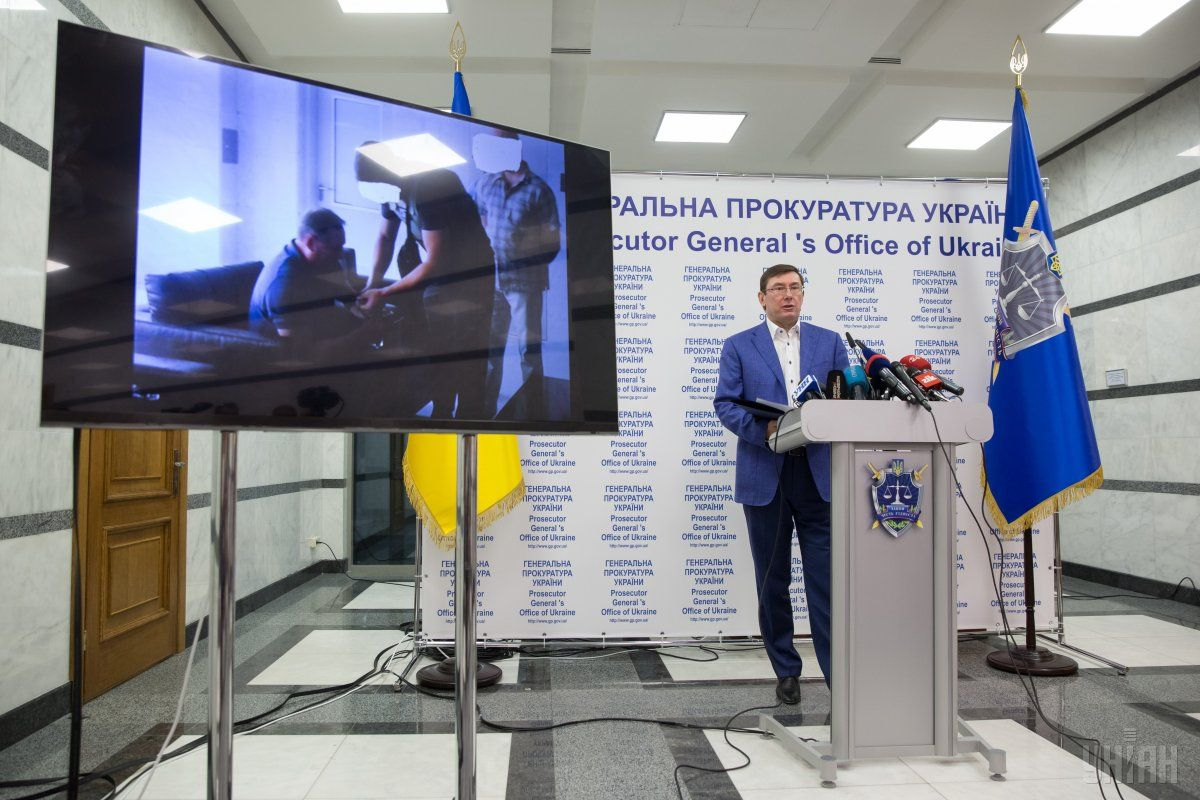 Lutsenko invites civil society to cooperate in combating separatism / Photo from UNIAN